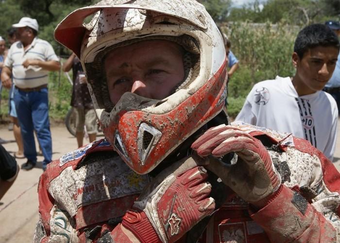 Dakar 2010 Rafal Sonik po ukonczeniu II etapu