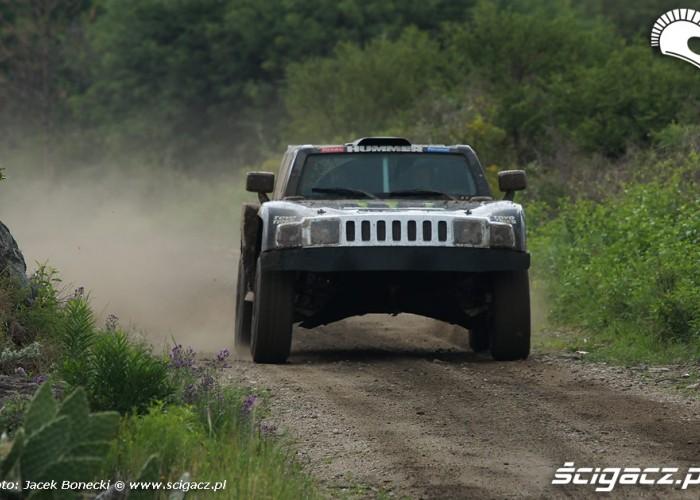 Hummer w rajdzie Dakar etap II