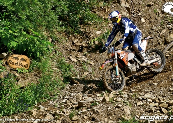 Chris Birch na RedBull Romaniacs 2010