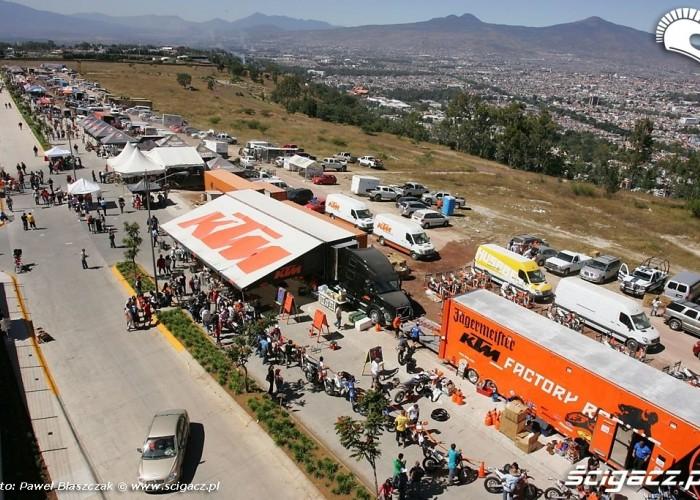 International Six Days Enduro 2010 padok w Meksyku (6)