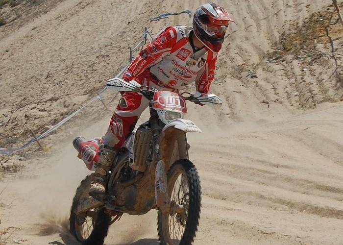 ISDE 2009 Portugalia Szuster Michal odcinek piaskowy
