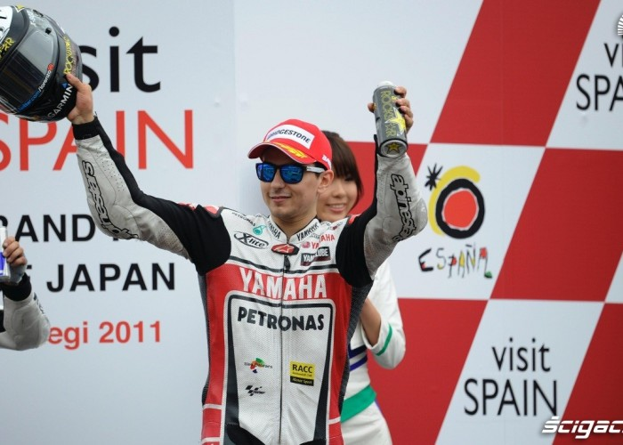 Lorenzo podium