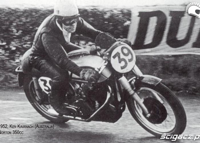 04a) 1952 Norton 350cc - Ken Kavanagh (AUS)