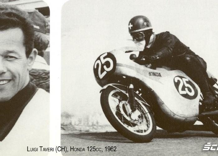 10) 1962 Luigi Taveri (CH) czolowy kierowca Hondy 125cc (