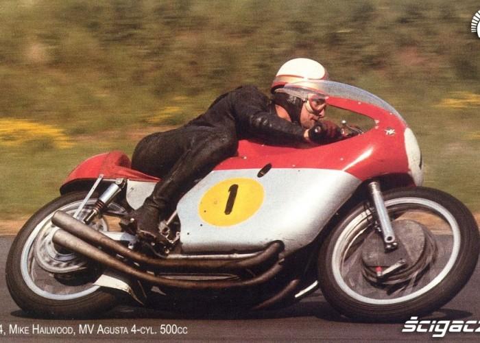 13) 1964 MV Agusta 500cc Mike Hailwood (9 Ms i 76 GP)