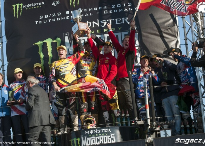 mx of nations 2013 na podium