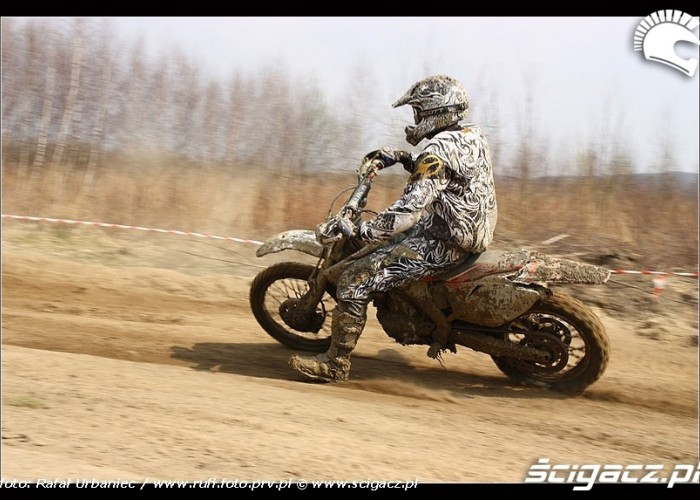 moto cross county Kryspinow
