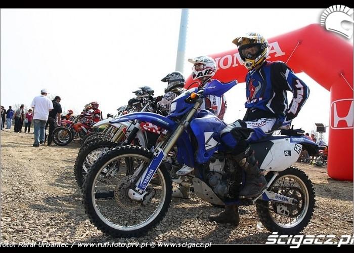 moto na starcie CC Bull Racing Fest Kryspinow 3