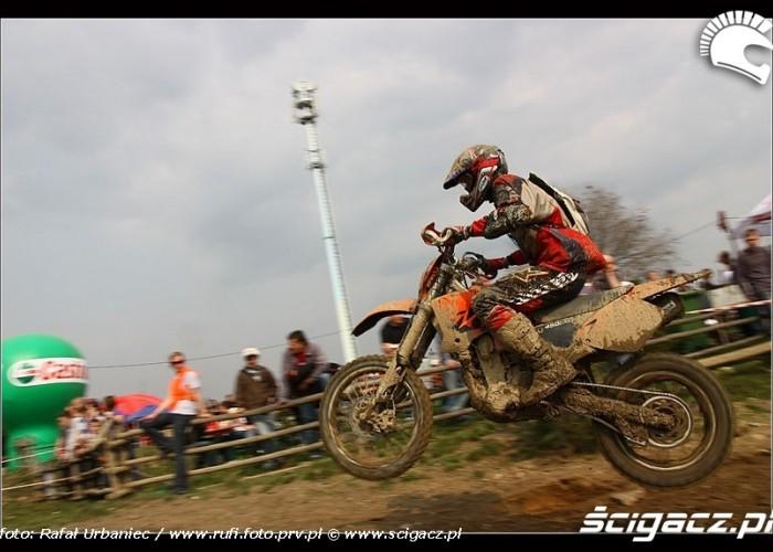 moto w powietrzu Bull Racing Fest Kryspinow 2009