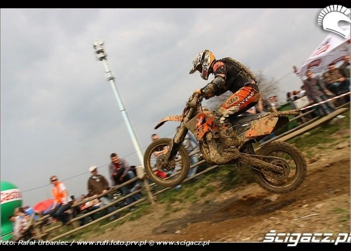 motocross w powietrzu