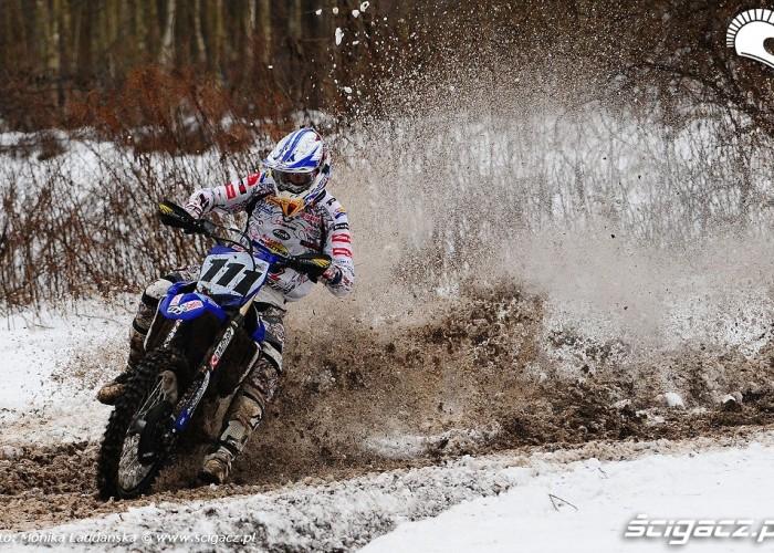 Motocross zima