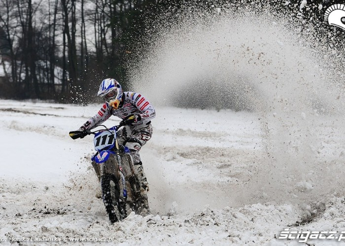Zimowe treningi Lukasza Kurowskiego