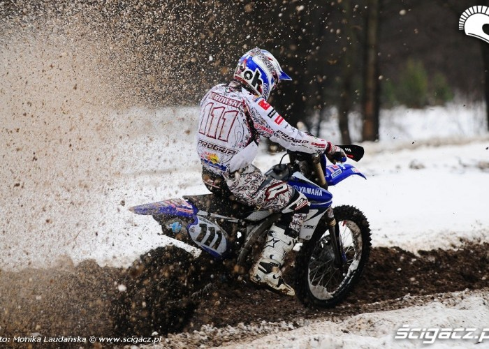 Zimowy trening Kuraka