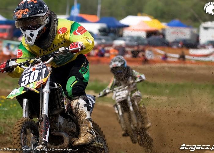 dominik olszowy mx 65 motocross olsztyn 2010