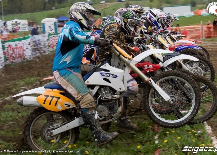 mx1 start motocross olsztyn 2010