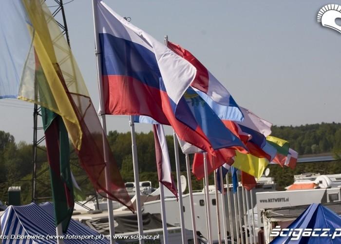 flagi mistrzostwa europy motocross olsztyn 2009 c mg 0145