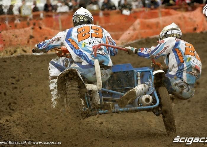Mistrzostwa Swiata w Motocrossie Sidecar Gdansk 2009 AYR Racing team