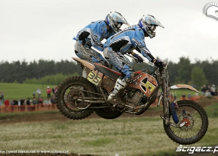 Mistrzostwa Swiata w Motocrossie Sidecar Gdansk 2009 hopa