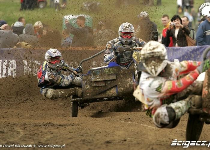 Mistrzostwa Swiata w Motocrossie Sidecar Gdansk 2009 rywalizacja