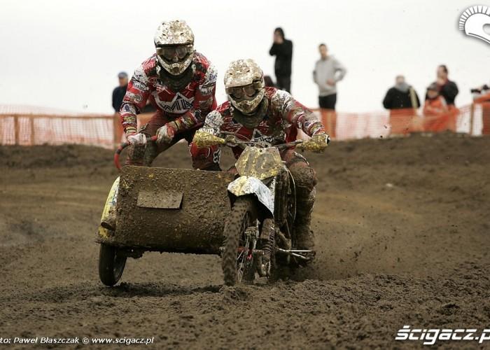 Mistrzostwa Swiata w Motocrossie Sidecar Gdansk 2009 zawodnicy