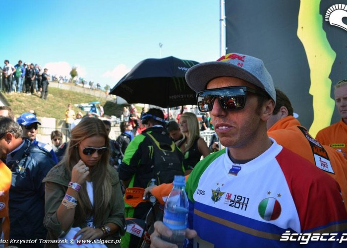 antonio cairoli 2011 motocross of nations team italy