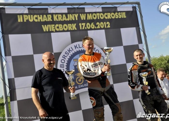 Puchar Krajny 2012 podium