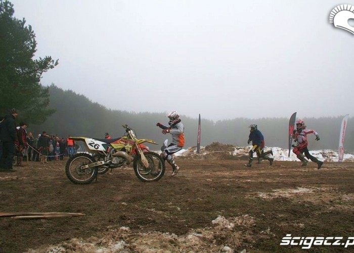 Snow Cross bieg do motocykli