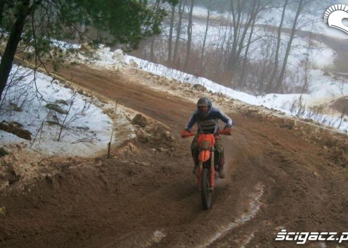 Snow Cross kierowca KTM