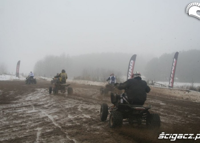Snow Cross wyscig klasy quad