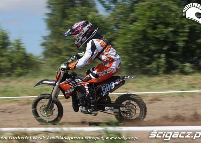 klasa mx65 motocrossowe mistrzostwa polski strykow 2010