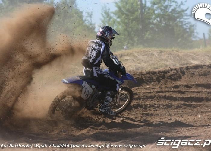 leszek jasinski yamaha motocrossowe mistrzostwa polski strykow 2010