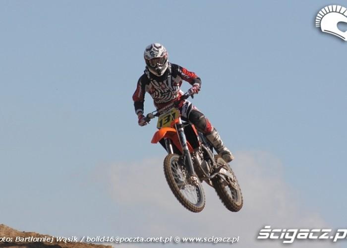maciej zdunek motocrossowe mistrzostwa polski strykow 2010