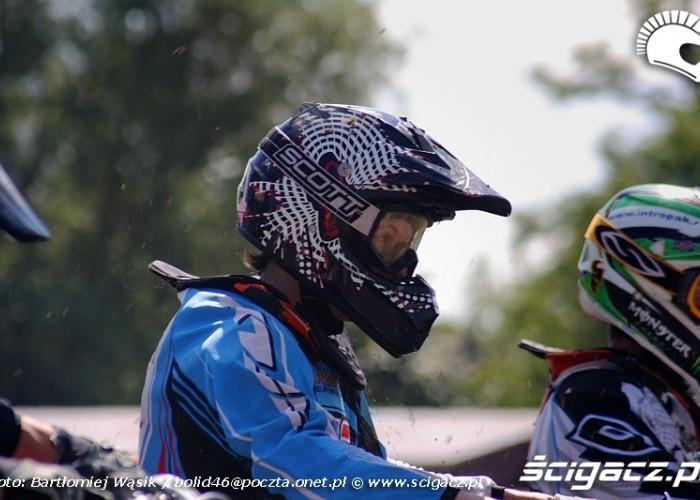 przed startem motocrossowe mistrzostwa polski strykow 2010