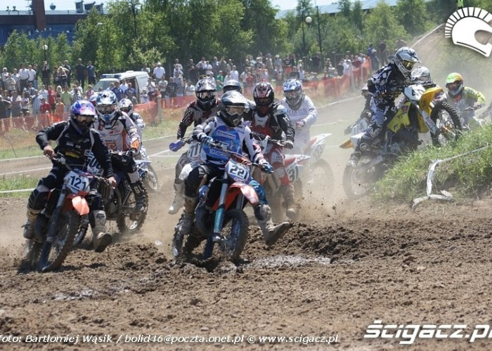 start mx2 junior motocrossowe mistrzostwa polski strykow 2010