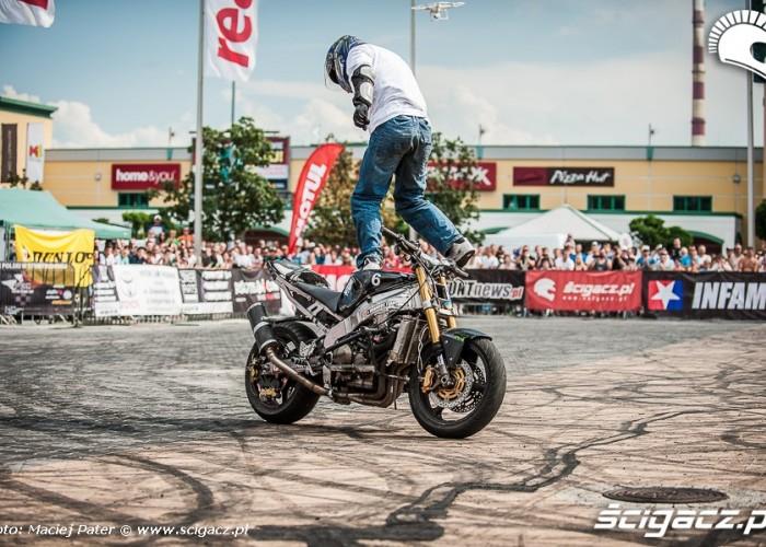 Cracow stunt Cup jazda na stojaco