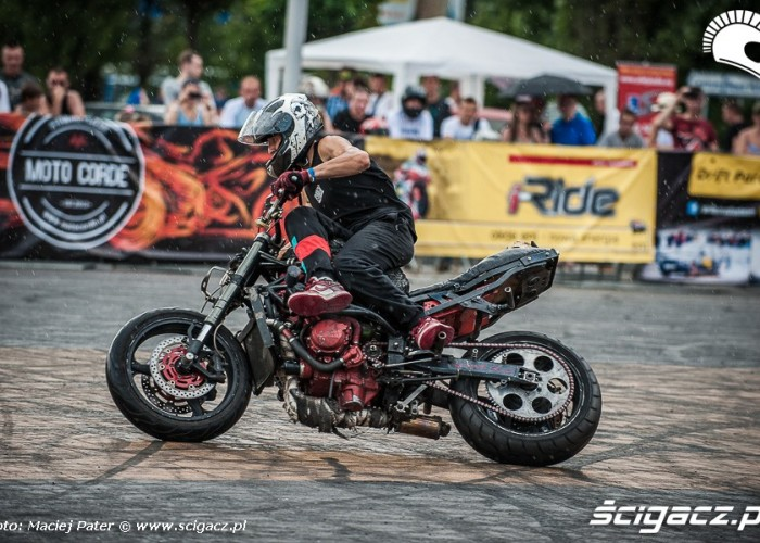 mokry drift Cracow Stunt Cup