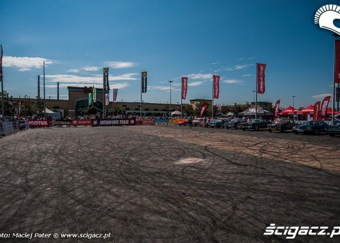 plac zawodow Cracow Stunt Cup