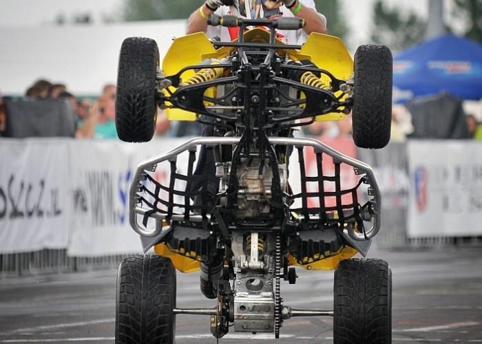 Pokaz quadow Stunt GP 2014