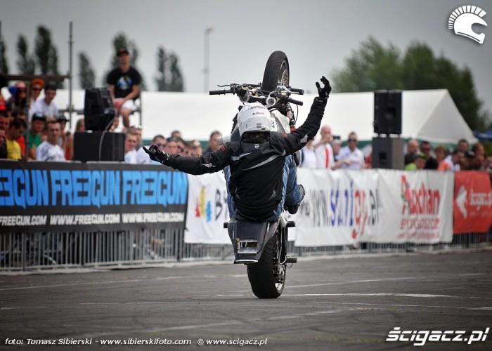 bez trzymanki Stunt GP 2014