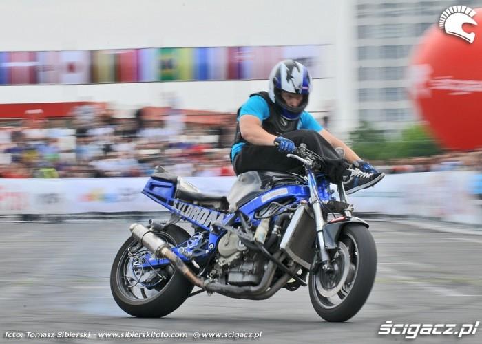 na kerownicy Stunt GP 2014