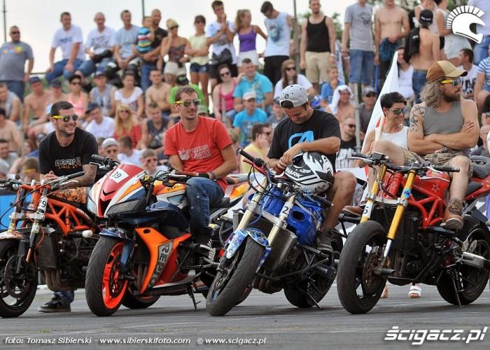 prezentacja zawodnikow Stunt GP 2014