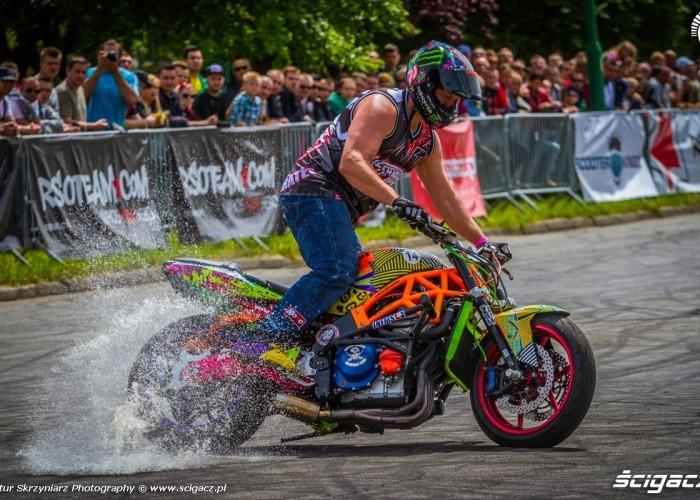 Beku drift Moto Show Bielawa Polish Stunt Cup 2015