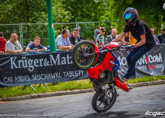CBR 125 w akcji Moto Show Bielawa Polish Stunt Cup 2015