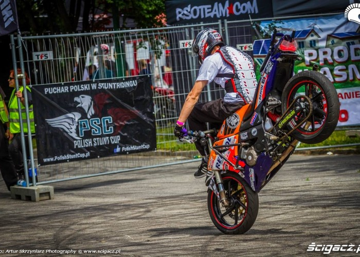 HC stopal Moto Show Bielawa Polish Stunt Cup 2015