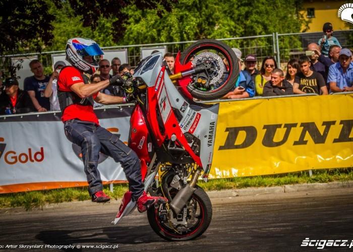 Toban na gumie Moto Show Bielawa Polish Stunt Cup 2015