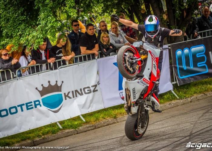 Toban no hander circles Moto Show Bielawa Polish Stunt Cup 2015