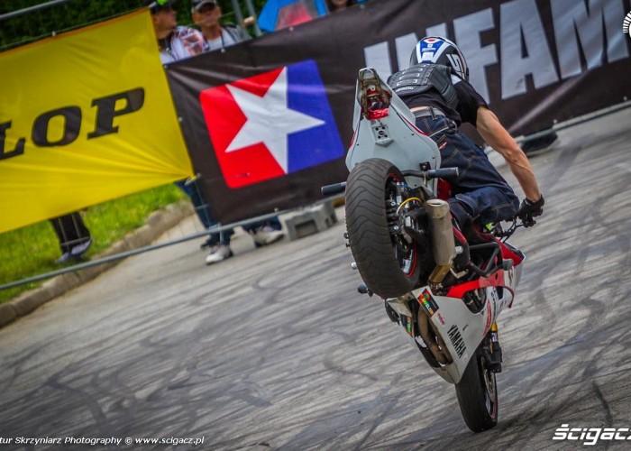 Toban stopal Moto Show Bielawa Polish Stunt Cup 2015