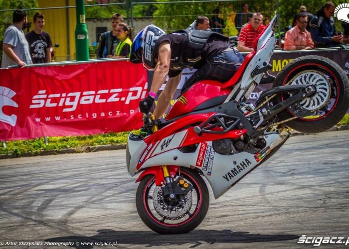 Toban stoppie Moto Show Bielawa Polish Stunt Cup 2015