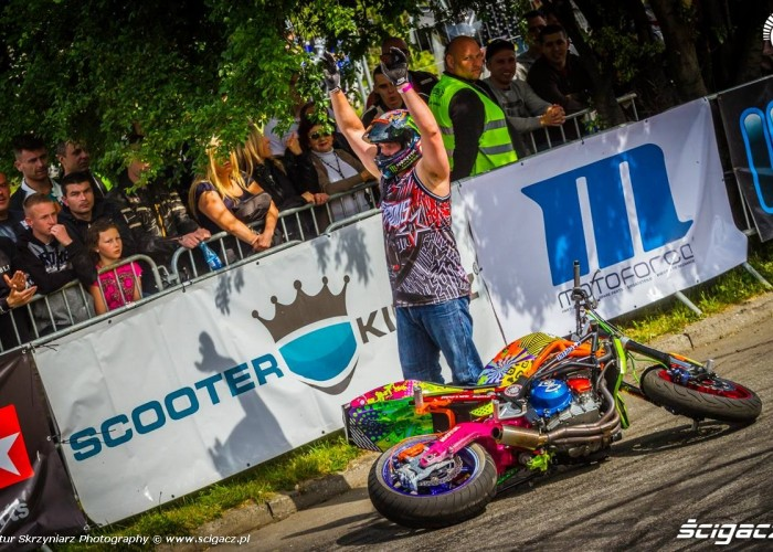 and who is the boss Moto Show Bielawa Polish Stunt Cup 2015