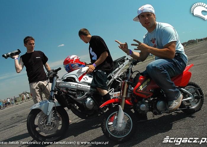 bikeshow millenium 2008 stunter13 team